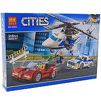 Конструктор «Cities» город Bela - стремительная погоня, 318 деталей (10656)