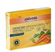 Бульйонні кубики овочеві без додавання дріжджів, Naturata, 72 г