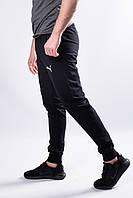 Мужские трикотажные спортивные штаны на манжете Puma