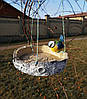 Кормушка для птиц синичка на березе и синичка на сосне, фото 5