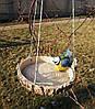 Кормушка для птиц синичка на березе и синичка на сосне, фото 6