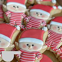 Новорічні смачні подарунки імбирне печиво ельф
