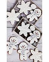 Новорічні смачні подарунки імбирне печиво набір