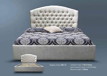 Мягкая кровать МК-12 MegaMebli
