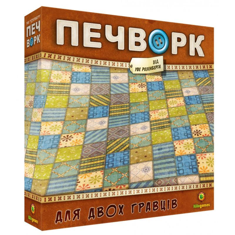 Настольная игра Печворк (українською)
