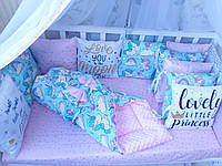 Комплект бортиков в детскую кроватку