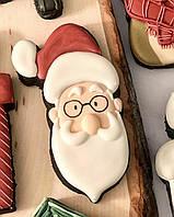 Санта имбирное печенье
