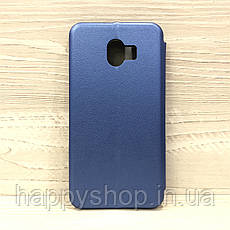 Чехол-книжка G-Case для Samsung Galaxy J4 2018 (J400) Синий, фото 2