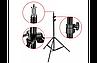 Телескопический штатив для смартфонов и кольцевой лампы   Тренога   Трипод Tefeng S2, фото 3