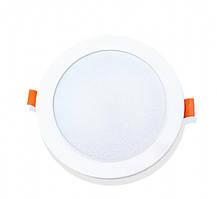 Светильник точечный врезной EVROLIGHT 12Вт круг PLAIN-12R 4200К