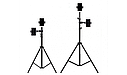 Телескопічний штатив для кільцевої лампи | Тринога | Трипод Tefeng S2, фото 6