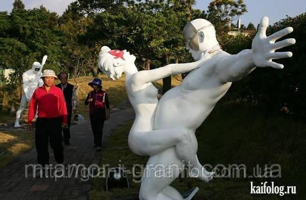 Эротические скульптуры из мрамора