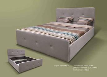 Мягкая кровать МК-14 MegaMebli
