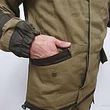 Зимний полевой костюм Горка 3 олива на флисе, фото 5