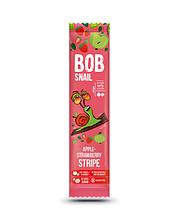 Натуральні яблучно-полуничні страйпси snail bob (Равлик Боб), 14г