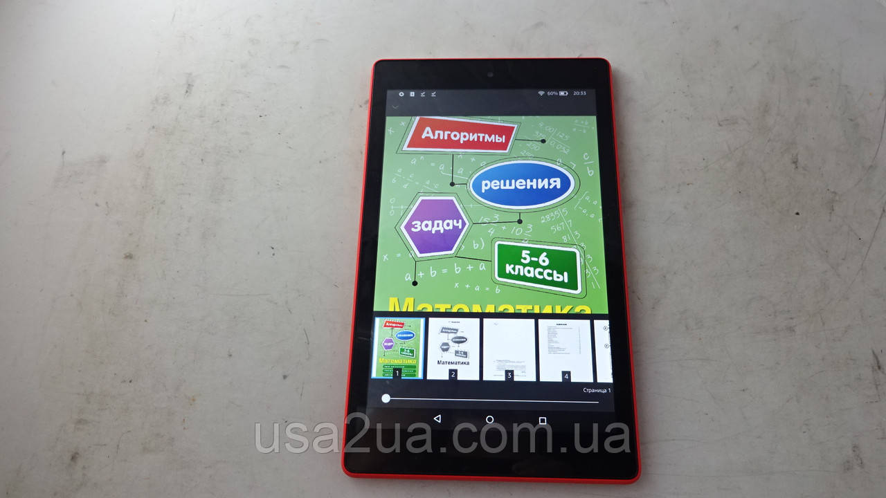 "8"" Эл Книга - Планшет Amazon Kindle Fire HD8 7gen WiFi Кредит Гарантия Доставка"