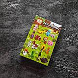 Конструктор Minecraft человечек с луком и свинкой, фото 3