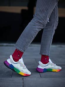Жіночі кросівки Adidas Ozweego Adiprene pride (веселка) 37