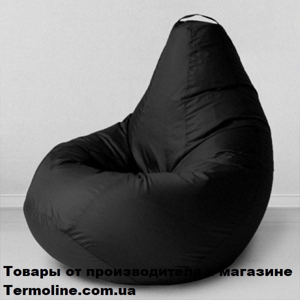 Кресло груша Jolly-XL 100см  черная