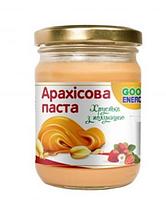 Арахісова Паста хрустка з полуницею, GoodEnergy, 250г.