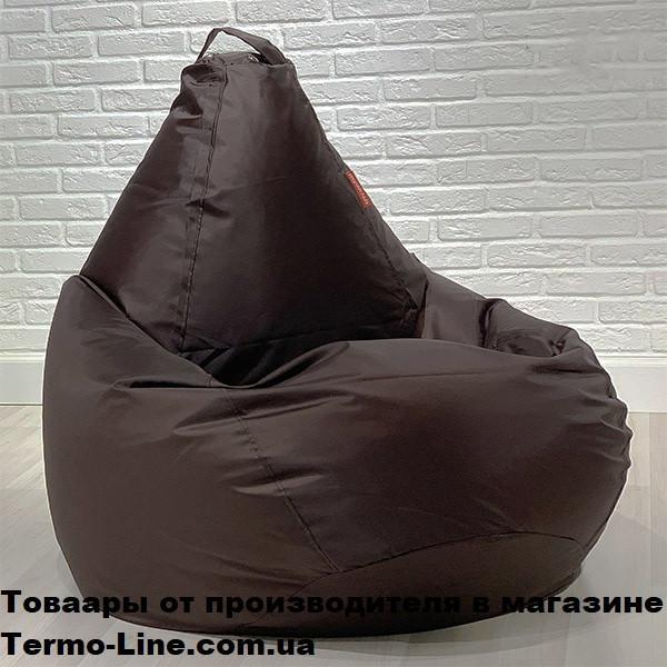 Кресло груша Jolly-XL 100см коричневое