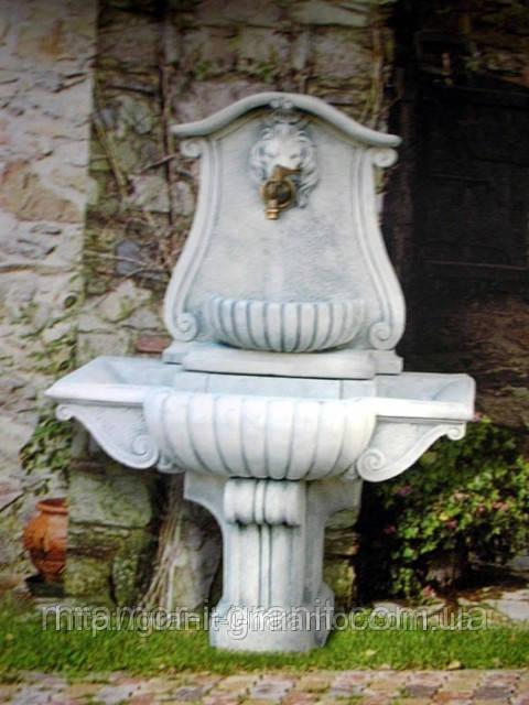 Настенные фонтаны из мрамора