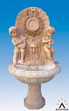 Настенные фонтаны из мрамора, фото 4