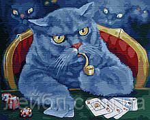 Кот игрок