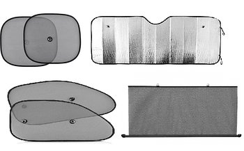 Солнцезащитные шторки - Защитные экраны