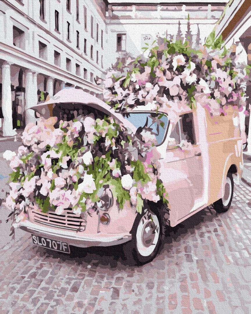 Цветочное авто