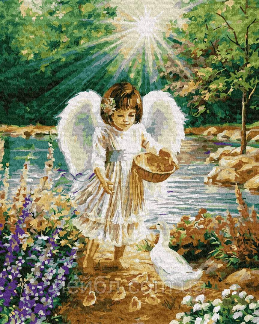 Ангел с утятами