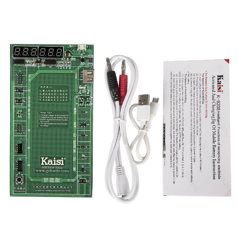 Активатор акумуляторів Kaisi K-9208 (iPhone 4/5/6/7/Huawei/Lenovo/Samsung/Xiaomi)