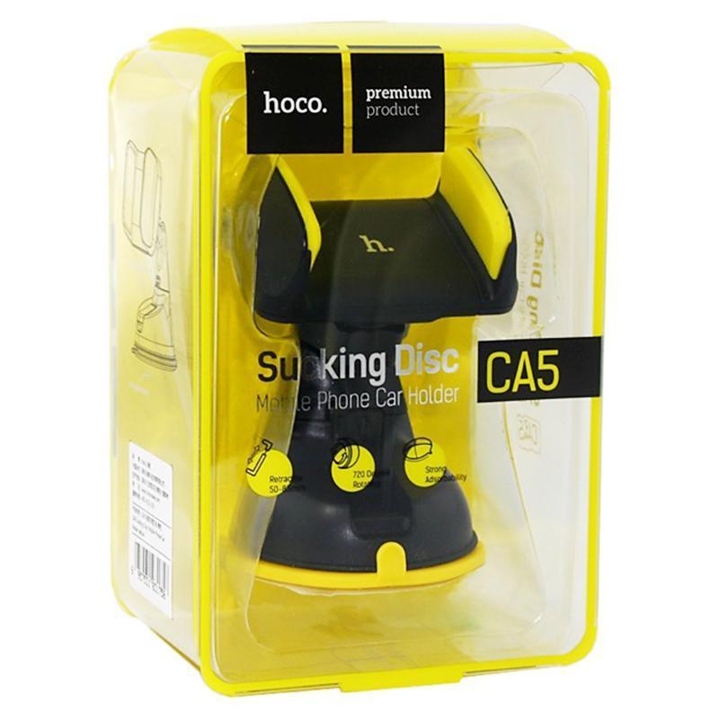 Холдер Hoco CA5 Black/Yellow