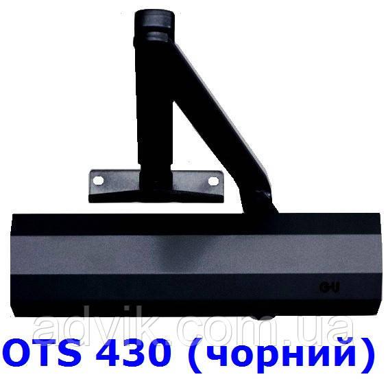 Доводчик G-U OTS 430 (440) з важільною тягою (чорний)