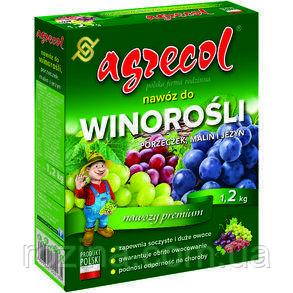 Удобрение Agrecol для винограда, малины и смородины 1.2 кг