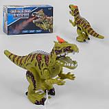Динозавр Рекс музыкальный интерактивный дышит паром, фото 2