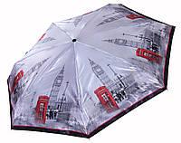 Сатиновый МИНИ зонт Три Слона Лондон ( полный автомат ) арт. L4702-8, фото 1