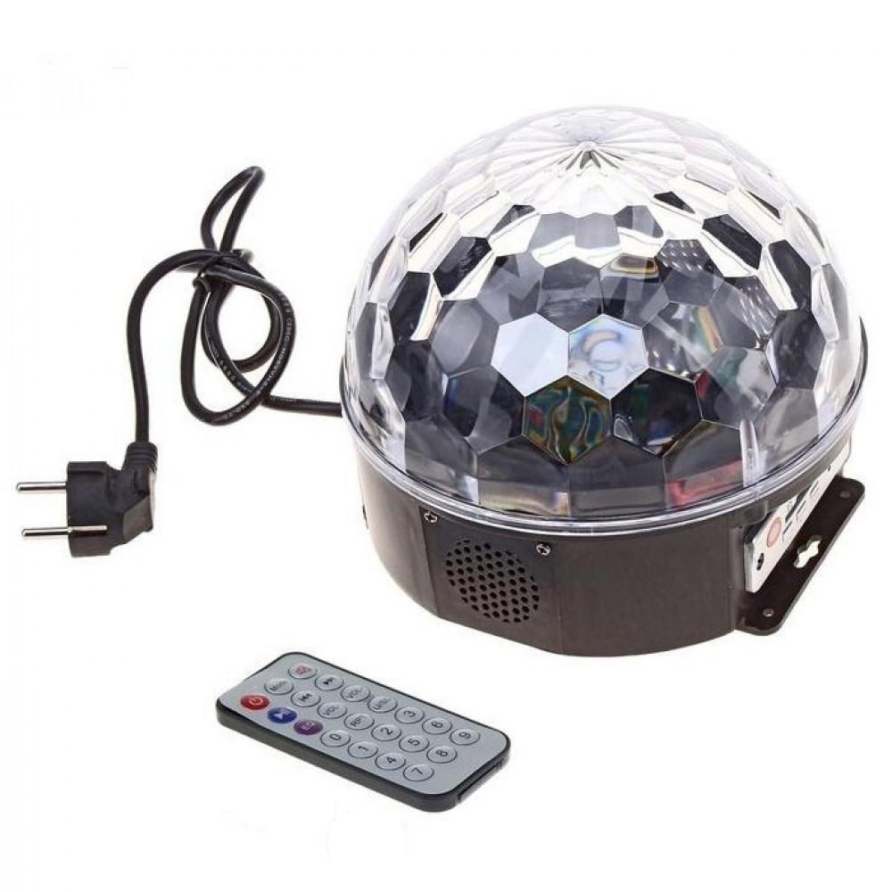 Светодиоидный диско шар LED Crystal Magic Ball Light M6