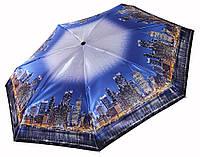 Сатиновый МИНИ зонт Три Слона Мегаполис ( полный автомат ) арт. L4702-7, фото 1