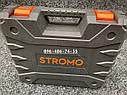 Аккумуляторный ударный шуруповерт Stromo SA214Li 21 вольт, фото 9