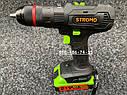 Аккумуляторный ударный шуруповерт Stromo SA214Li 21 вольт, фото 2