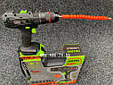 Аккумуляторный ударный шуруповерт Stromo SA214Li 21 вольт, фото 10