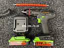 Аккумуляторный ударный шуруповерт Stromo SA214Li 21 вольт, фото 7