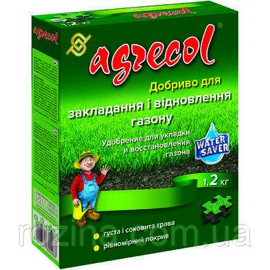 Удобрение Agrecol для укладки и восстановления газона  1.2кг