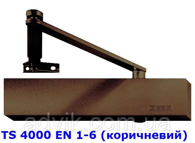 Доводчик Geze TS EN 4000 1-6 з важільною тягою (коричневий)