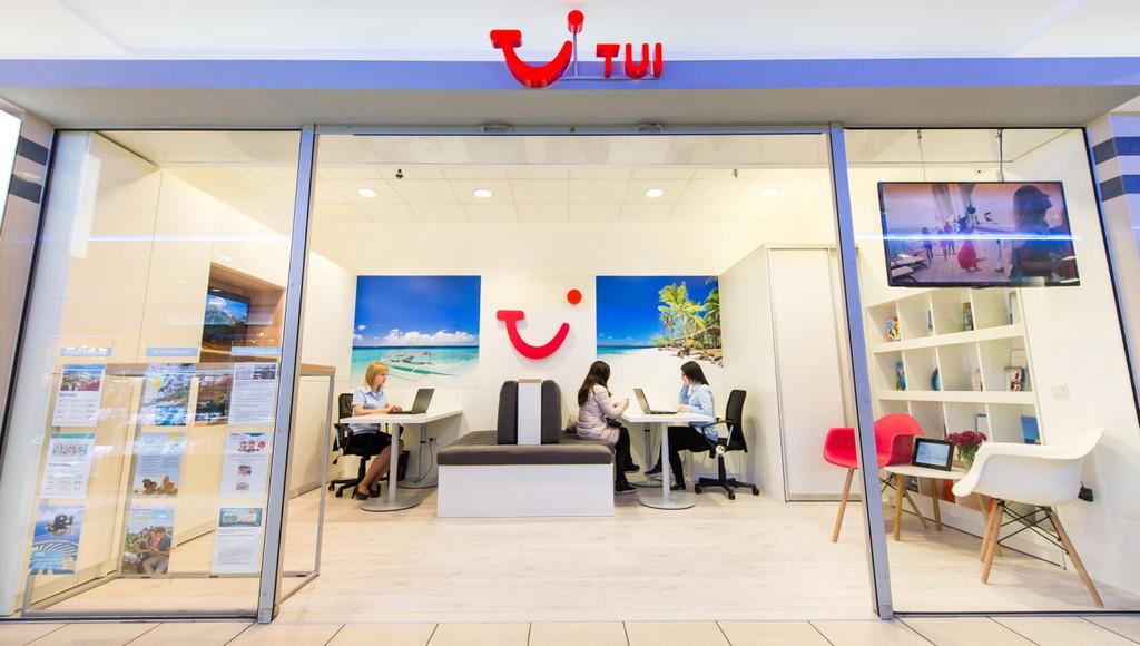 Меблировка офиса компания TUI под ключ