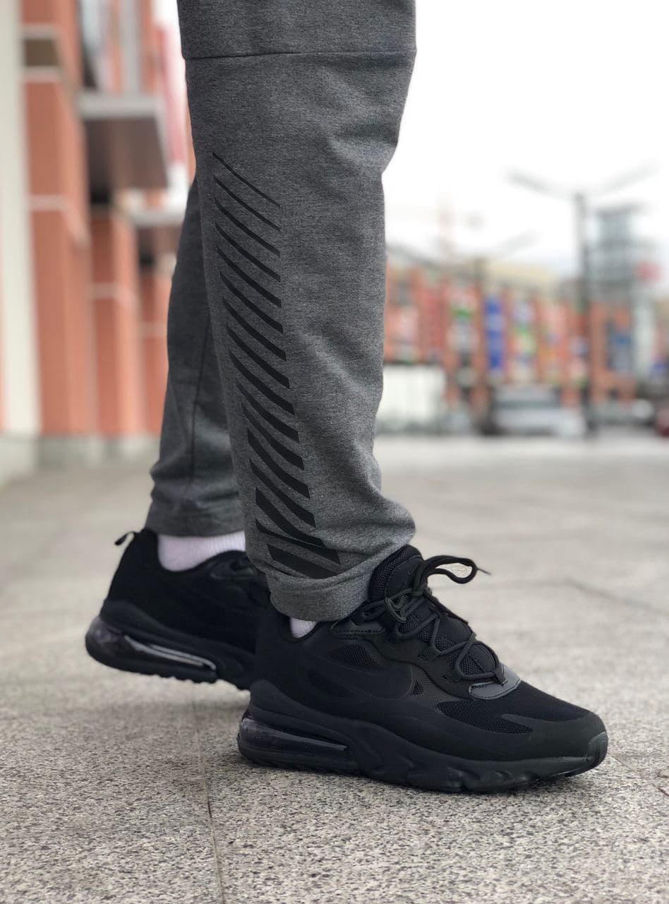 Жіночі шкіряні кросівки Nike Air Jordan 1 Retro Black White