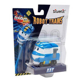 Іграшковий паровозик Silverlit Robot trains Кей