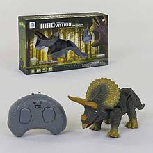 Іграшка динозавр Трицераптос на радіокеруванні інтерактивний світ звук