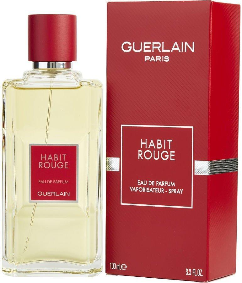 Оригинал мужская туалетная вода Guerlain Habit Rouge